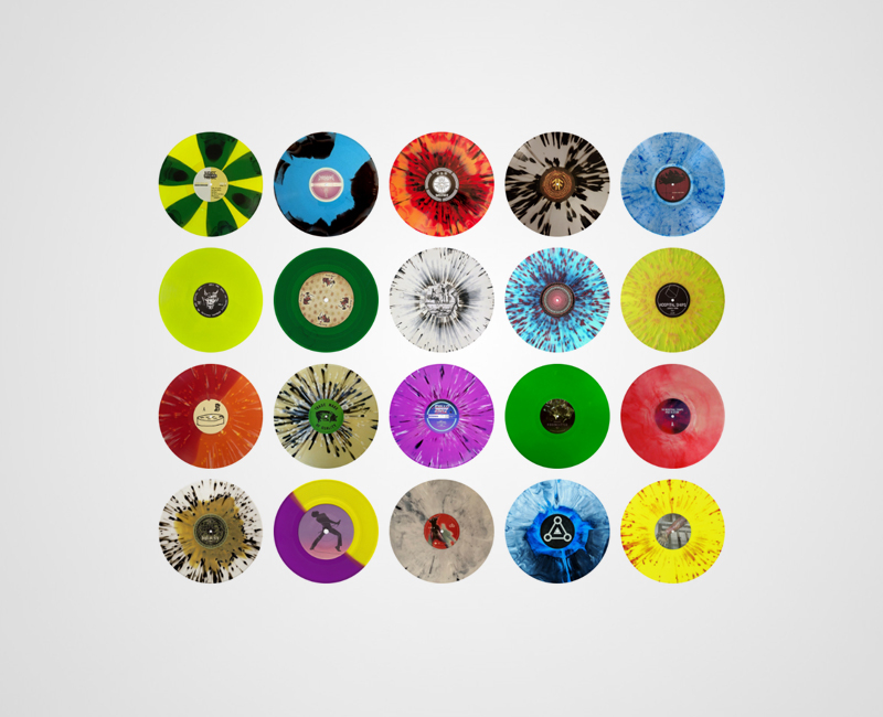 Colored Vinyl image gallery