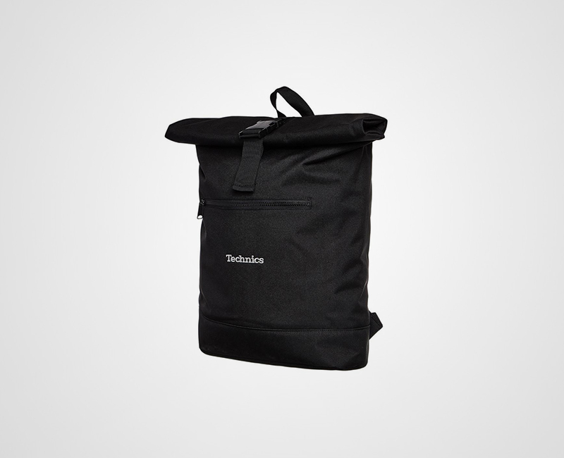 Technics Roll Top Record Backpack image gallery