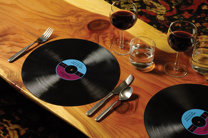 36 Gifts For Vinyl Lovers And Record Collectors : placemats from coloredvinylrecords.com size 800 x 532 jpeg 391kB