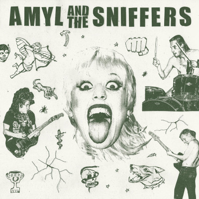 Amyl and the Sniffers -Amyl and the Sniffers