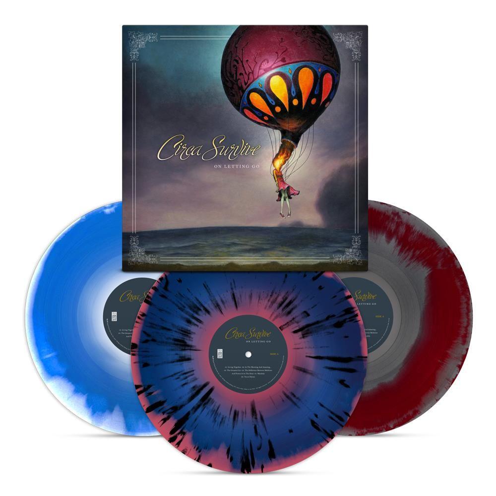 Circa Survive On Letting Go Colored Vinyl