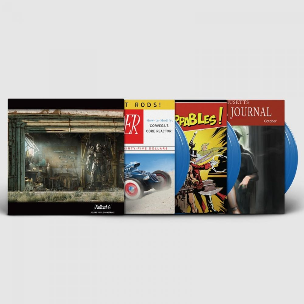inon zur fallout 4 deluxe vinyl soundtrack colored vinyl. Black Bedroom Furniture Sets. Home Design Ideas