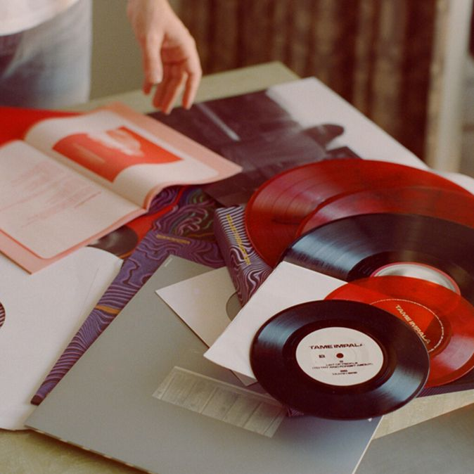Tame Impala Currents Collectors Edition Colored Vinyl