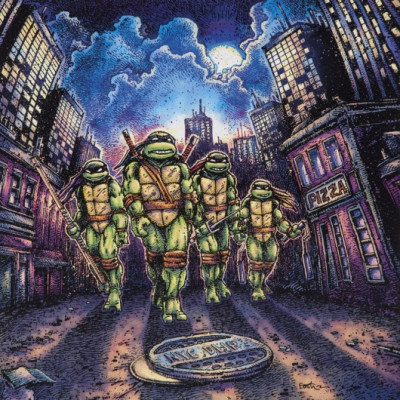 John DuPrez - Teenage Mutant Ninja Turtles Soundtrack