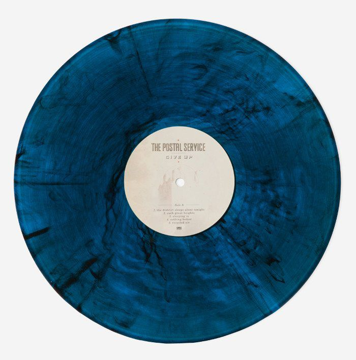 The Postal Service Give Up Colored Vinyl
