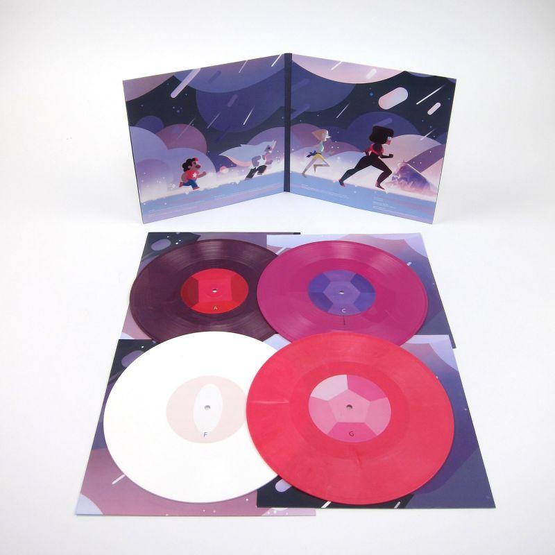 Various Steven Universe Soundtrack Colored Vinyl